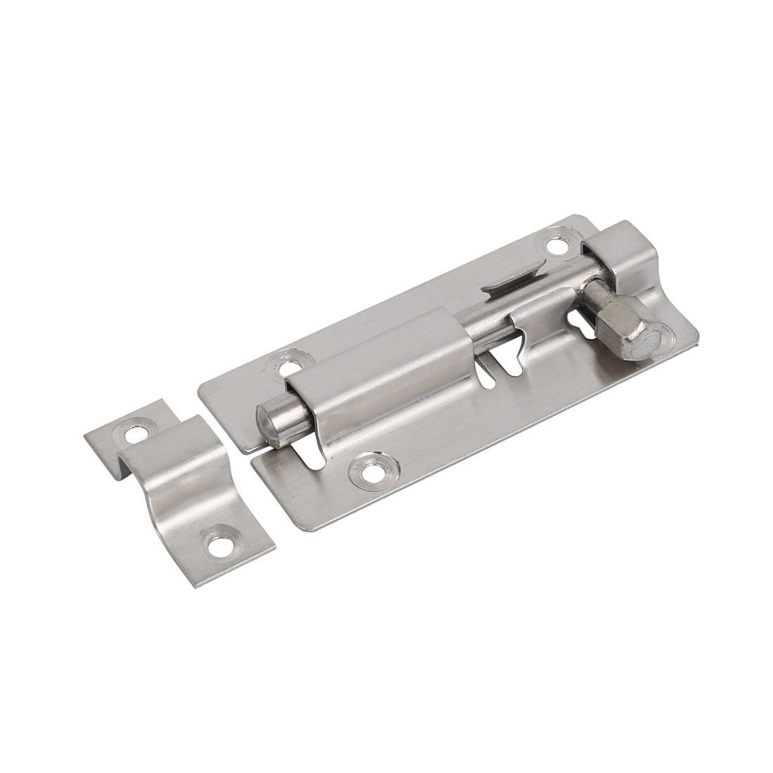security door latches. 88mm Long Stainless Steel (Silver) Security Door Slide Latch Barrel Bolt Lock Latches