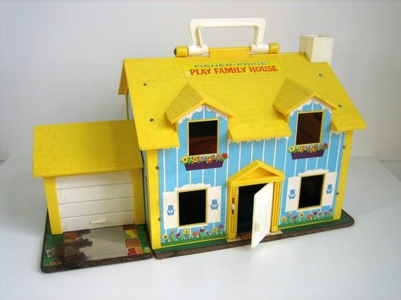 Fisher Price Play Family House 1969 Childhood Memories