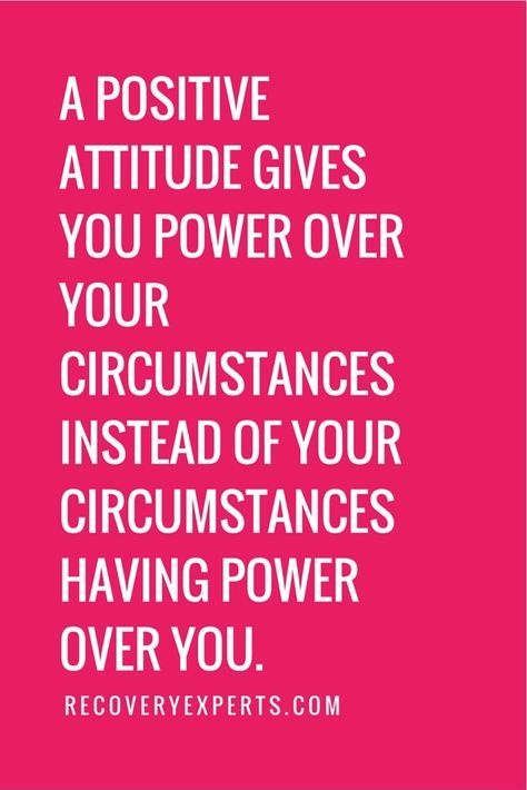 Inspirational Quotes: A positive attitude gives you power over ...