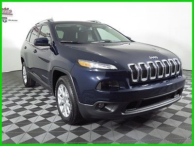 Ebay 2016 Jeep Cherokee Laude Fwd I4 Suv Backup Camera Premium Cloth Jeeplife Usdeals Rssdata