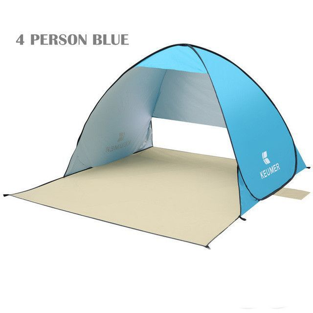 2017 summer KEUMER pop up open beach tent 3-4 persons Manufacturers sold outdoor fishing tent UV-protect quick open | Products | Pinterest | Beach tent and ...  sc 1 st  Pinterest & 2017 summer KEUMER pop up open beach tent 3-4 persons ...