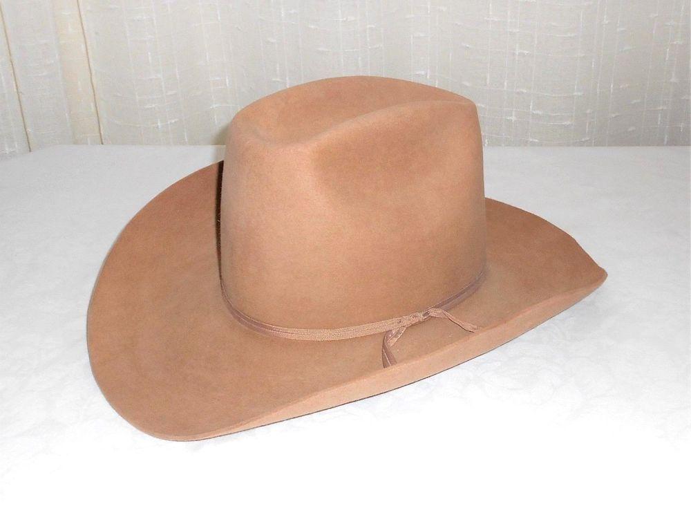 John B. Stetson 4X Beaver Tan Western Hat Size 7 1 8 Harry s Western Store   Stetson  Western 332283697c4