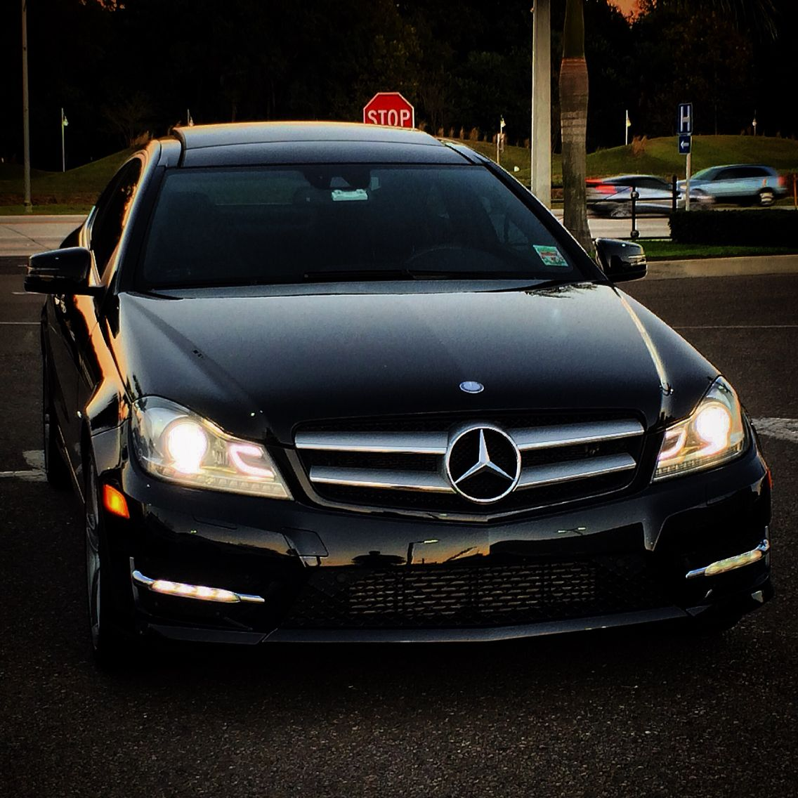 My W204 Mercedes C250 With The AMG Package