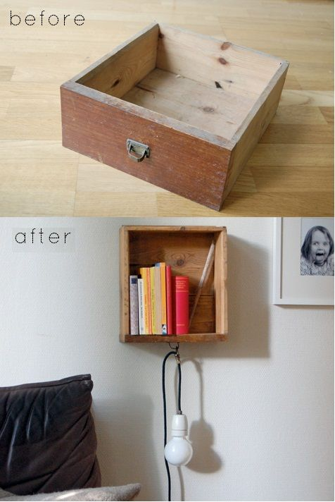 cajón reciclado / recycled drawers 5