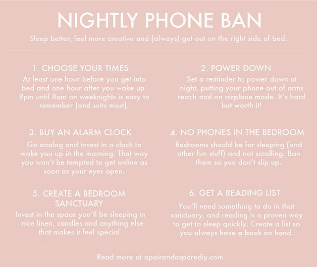 Nightly 8pm 8am Phone Ban Join My 30 Day Challenge Balance 30