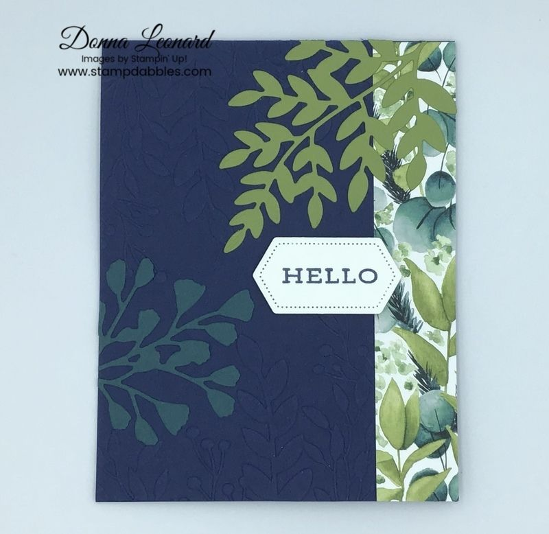 Stampin' Up! Forever Fern Note Card in 2020 Stampin up
