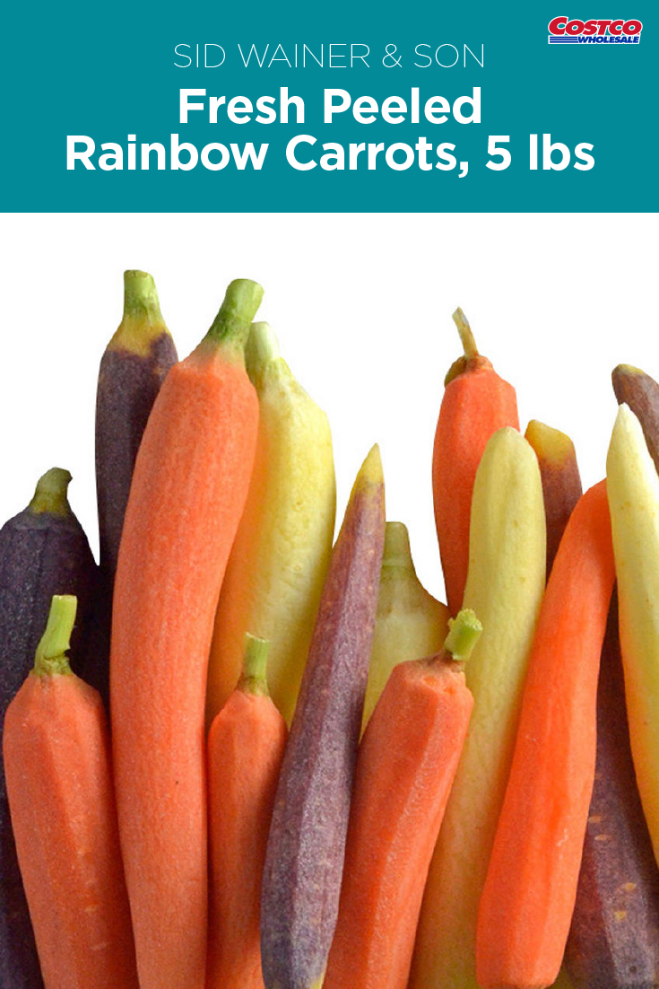 Peeled Rainbow Carrots Are Beautiful Versatile And Easy To Cook Rainbow Carrots Healthy Eating Food