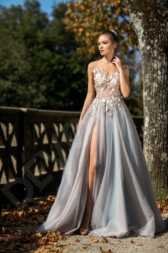 Individual size A-line silhouette Novella wedding dress. Modern style by DevotionDresses – Wedding