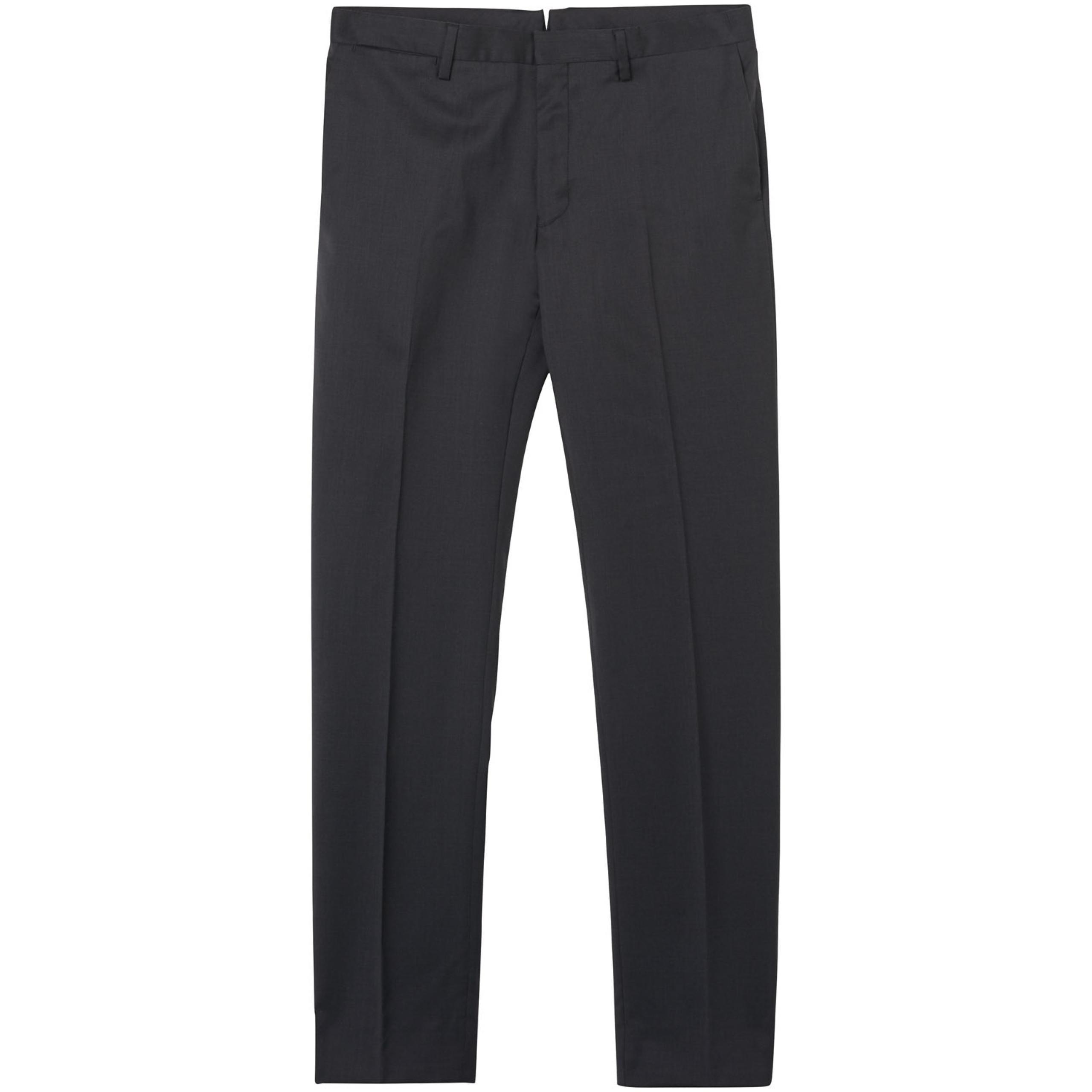 GANT Slim Fit Cool Traveler Trousers - Black GANT xmlU0VyCS