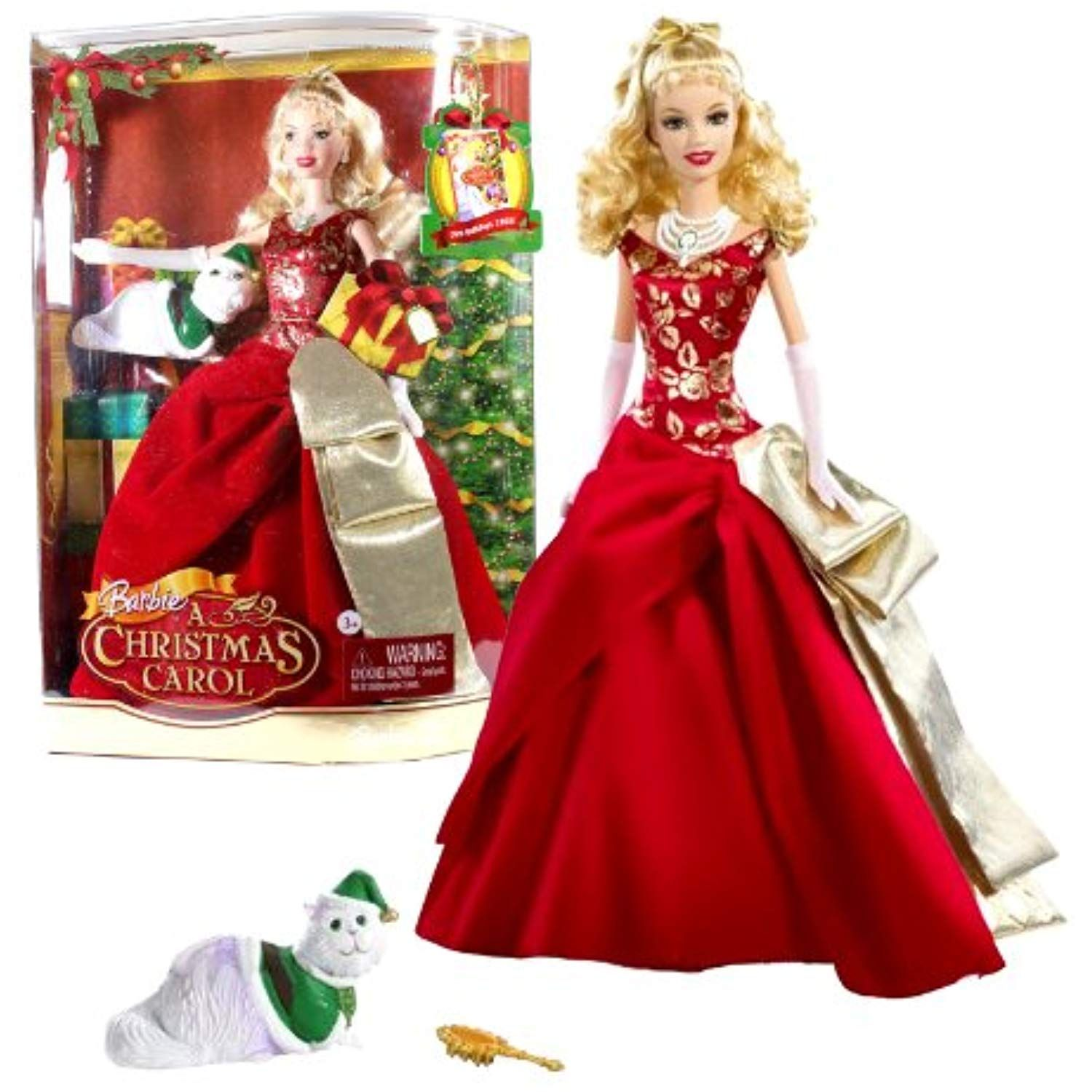 Mattel Year 2008 Barbie Holiday Movie Series A Christmas Carol