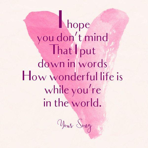 flirting quotes about beauty love lyrics john paul