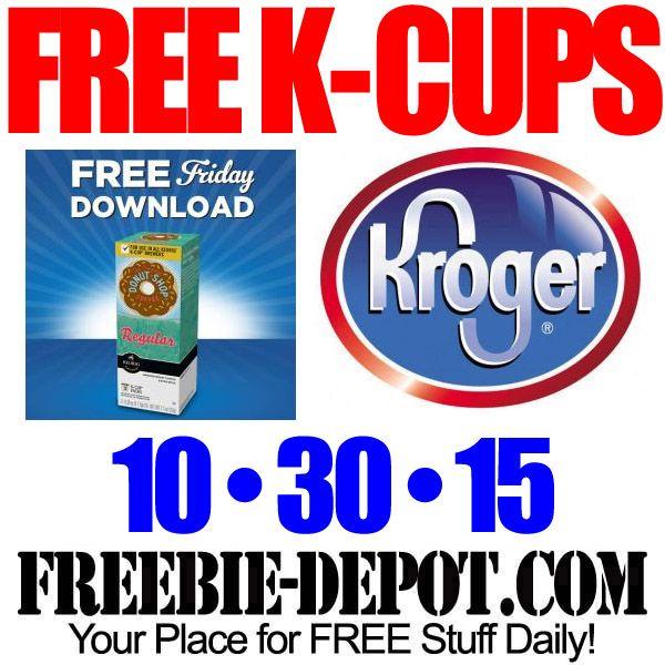 ►► FREE K-Cups 3 Pack – Kroger Freebie Friday Download – FREE Digital Coupon – 10/30/15 ►► #Free, #FREEStuff, #FREEWithCoupon, #Freebie, #FreebieFriday, #KCups, #Kroger ►► Freebie-Depot