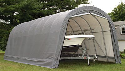 hiscoshelters ShelterLogic Portable Garage RV Motor Home ...
