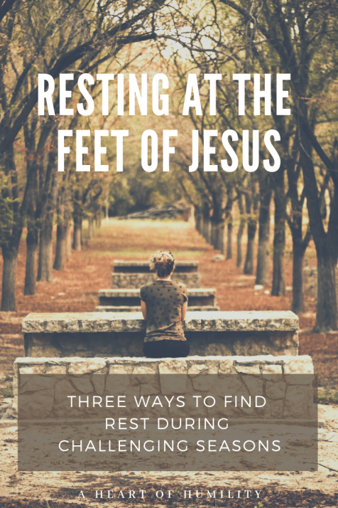 Jesus Matrimonio Biblia : How to find rest at the feet of jesus lecturas lectura