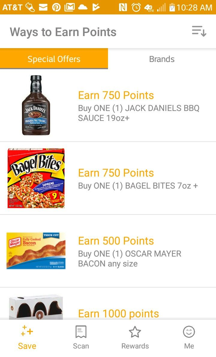 Fetch rewards is an app where you earn points to get gift