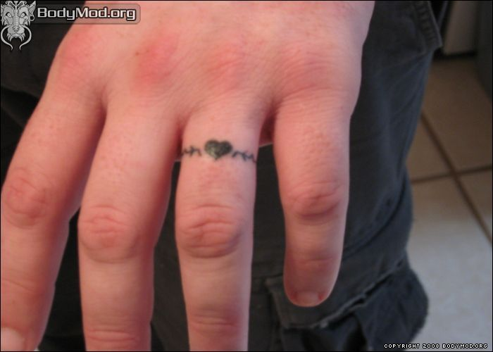 wedding ring Tattoo Ideas | Wedding-Ring-Tattoo-Designs-964 ...