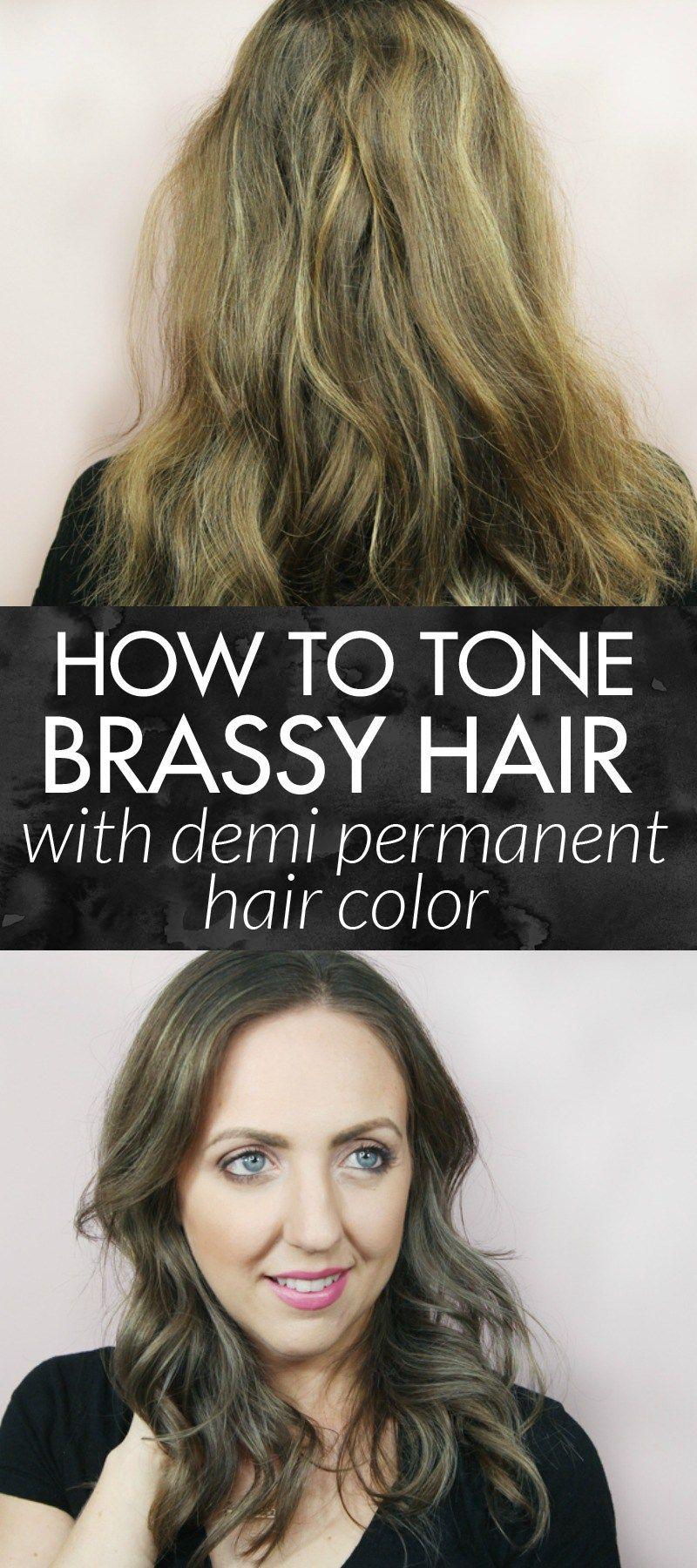 Best Toner For Brassy Hair Brassy Hair Demi Permanent And