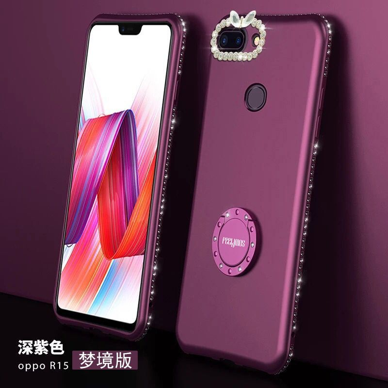best service fec76 21575 Matte Luxury Diamond Bling Girls Phone Case OPPO R15, OPPO R15 Pro ...