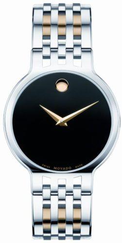 new movado esperanza mens watch 0606044 black dial stainless steel new movado esperanza mens watch 0606044 black dial stainless steel bracelet band 1230 05 on