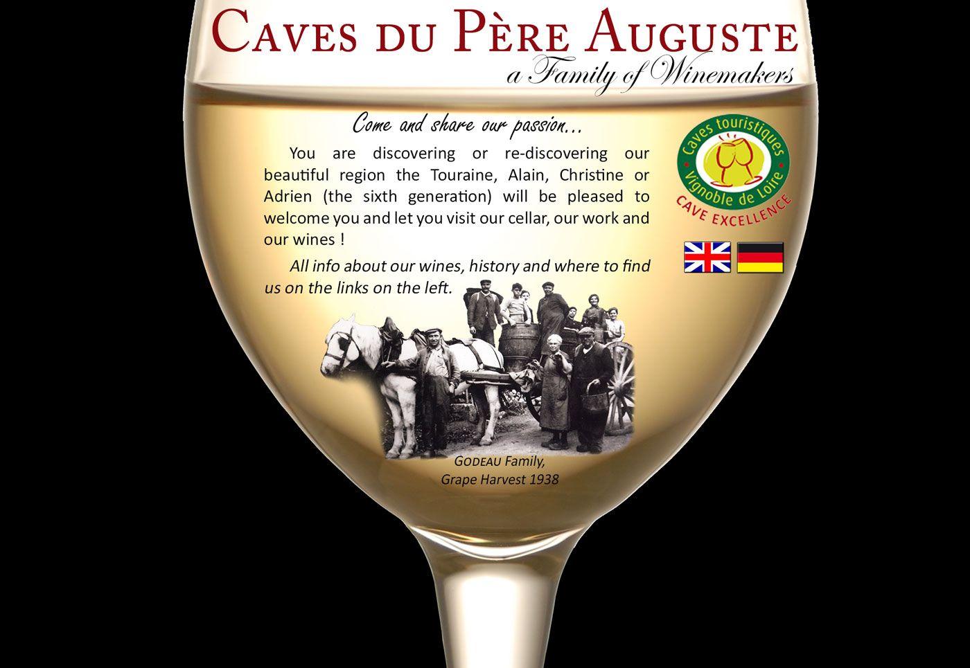 Les Caves du Père Auguste, a family of winemakers Caves