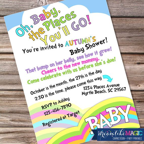 Printable Baby Shower Invitation Oh