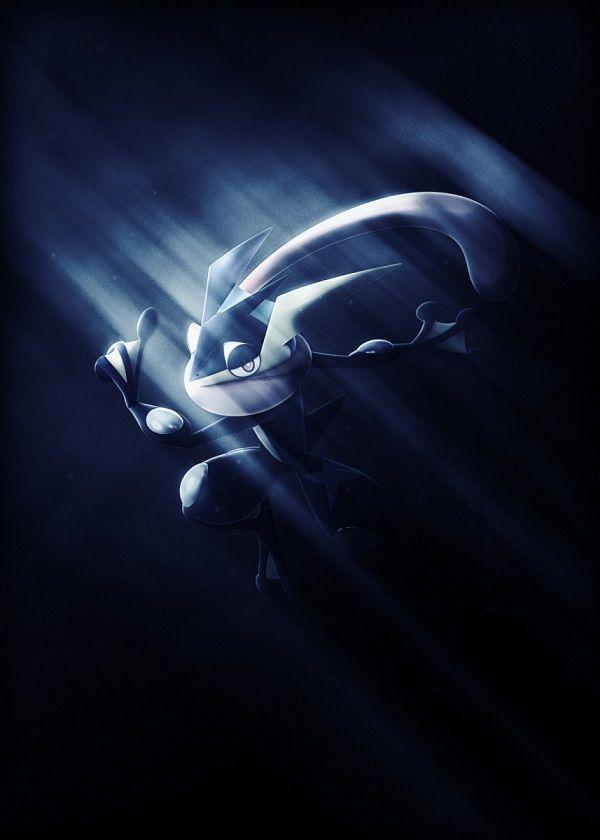 "Super Smash Bros. Ultimate Light Characters Greninja #Displate artwork by artist ""Danaydal"". Part of… | Displate thumbnail"