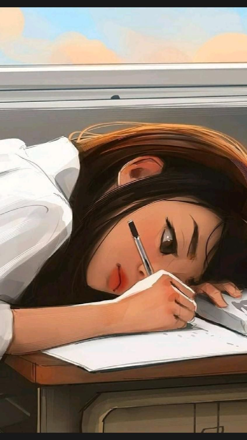 girly illustration 🌹