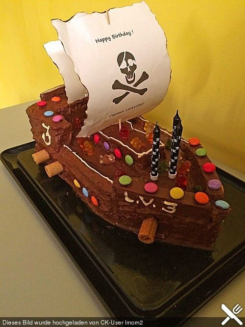Piratenkuchen Piratenkuchen Cake Pirate Birthday Cake Und