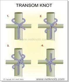 Riegelknoten  Zurrknoten um zwei Stangen miteinander zu verbinden #ropeknots Riegelknoten  Zurrknoten um zwei Stangen miteinander zu verbinden #ropeknots