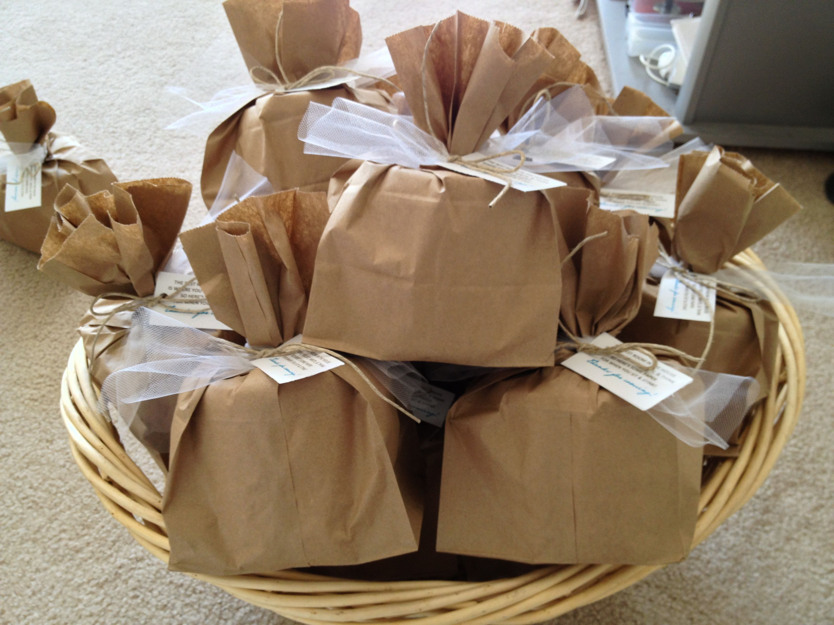Toilet Paper Favors for Housewarming Party. Tag says: The best ...