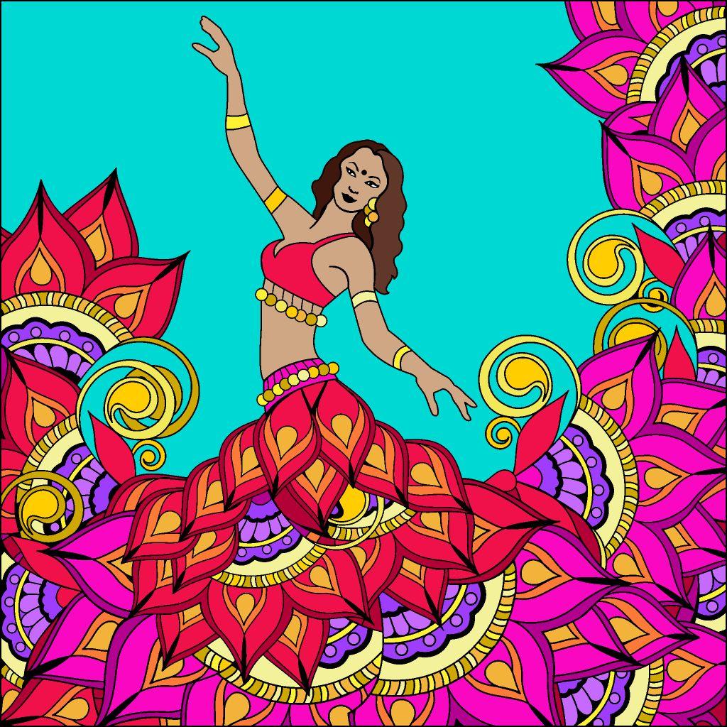 12 10 18 Coloring Book App Colorful Art Happy Colors