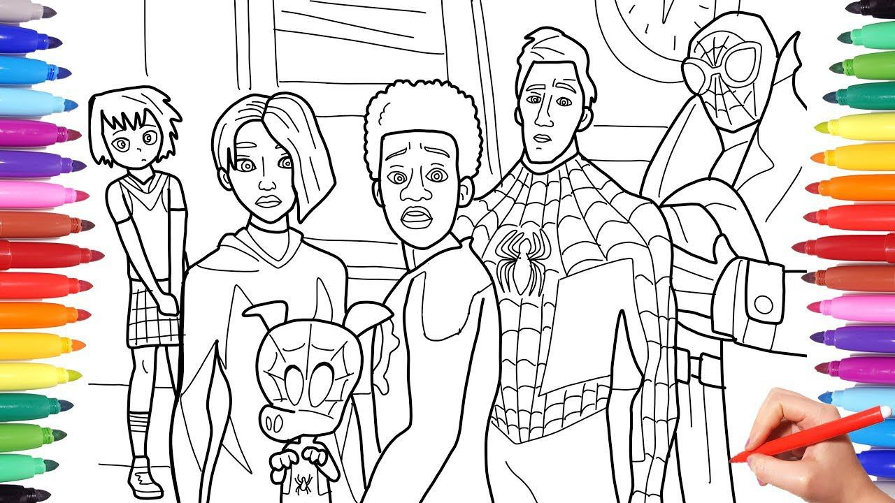 Lego Spider Man Coloring Pages di 2020