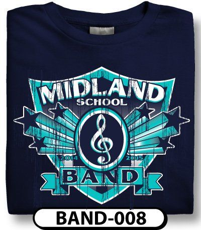 Design Custom Marching Band T-Shirts Online by Spiritwear | Marching
