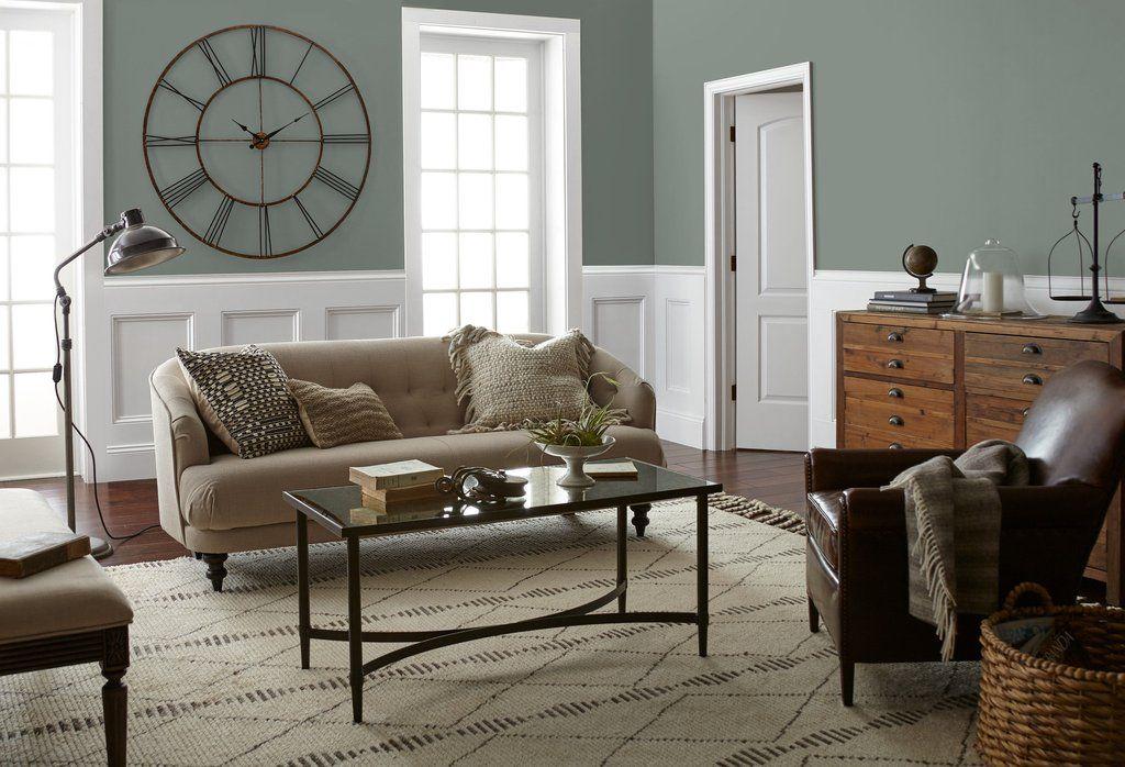 Silverado Sage Interior Paint Living Room Paint Magnolia Homes Paint House Interior