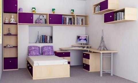 Muebles de melamina perfectos para tu dormitorio