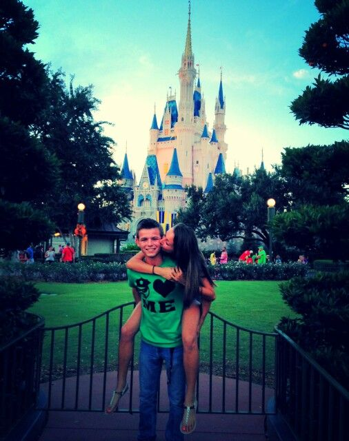 If we ever go to Disney together, this picture is a must! It would even be a cute picture for best friends :)