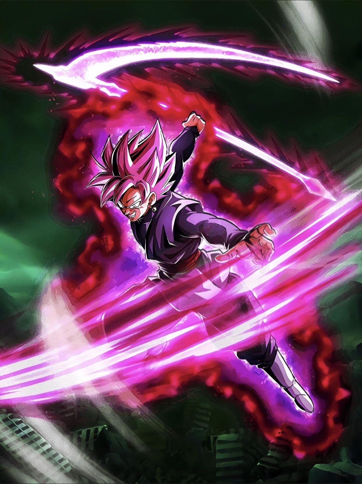 Super Saiyan Rose Goku Black Dokkan Battle Wallpaper Anime Dragon Ball Super Dragon Ball Super Goku Super Saiyan Rose