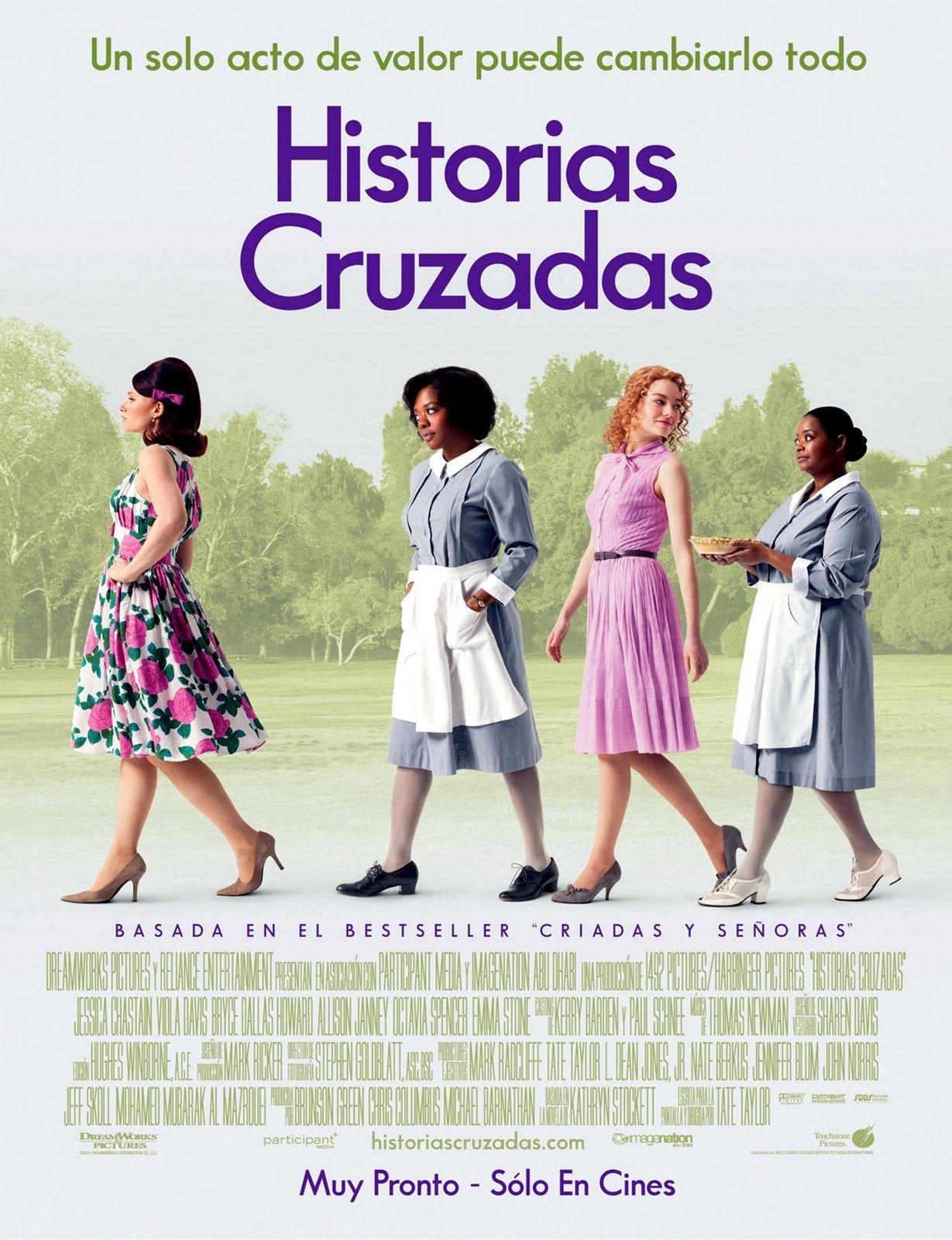 Cartaz Latino De Historias Cruzadas Historias Cruzadas Cartaz