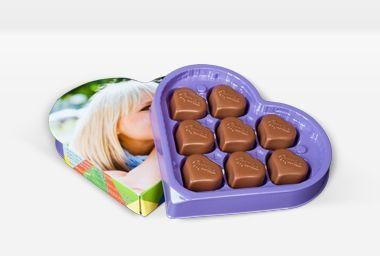 orginell verpackt; süßer Ostergruß für Männer; Milka Pralines