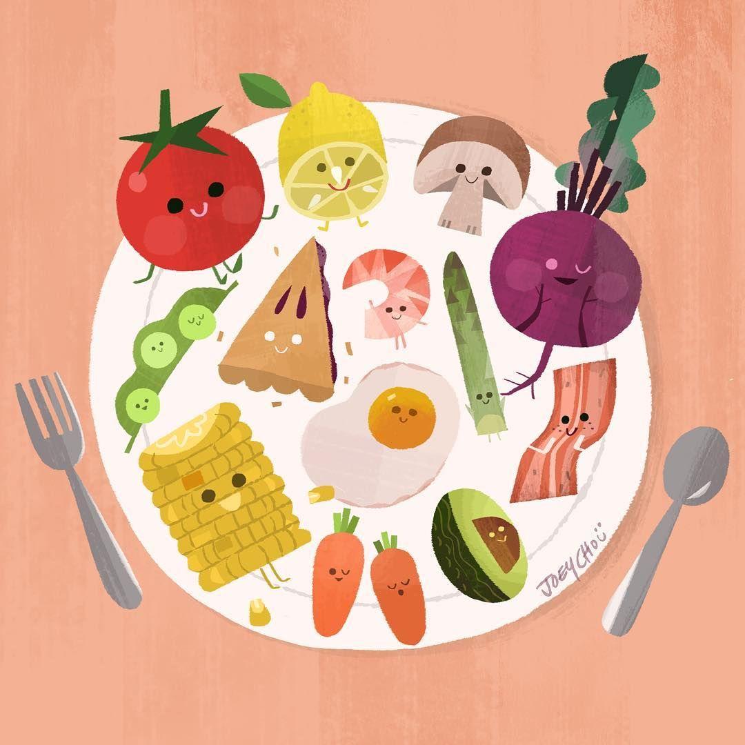 спускаются картинки к теме здоровое питание фото видно