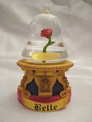 Beauty and the Beast Snow Globes | The Rose in the Bell Jar Mini Globe