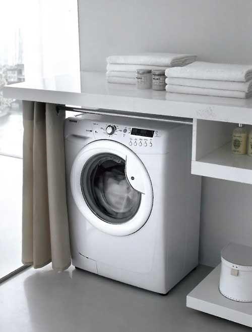 Un elegante locale da adibire a lavanderia arredamento for Piani di casa fai da te