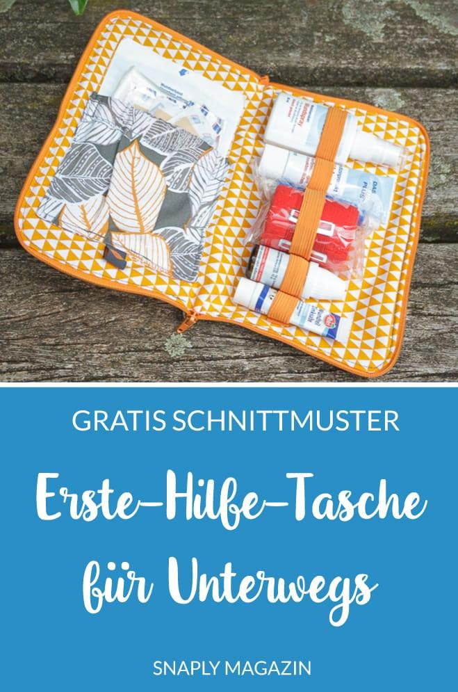Photo of Unterwegs-Erste-Hilfe-Tasche nähen – gratis Anleitung | Snaply-Magazin