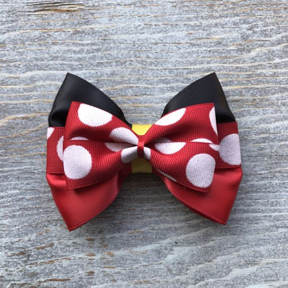 Minnie bow by Badtothebowco on Etsy