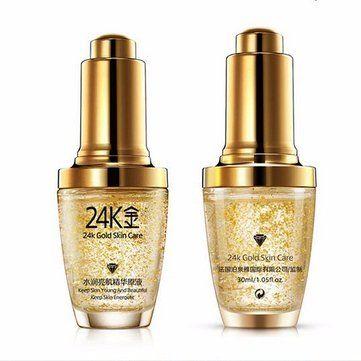 24k Gold Anti Wrinkle Essential Liquid Essence Keep Young Energetic Skin Care 30ml At Banggood Skin Care Moisturizer Moisturizing Face Cream Cream Face Skin