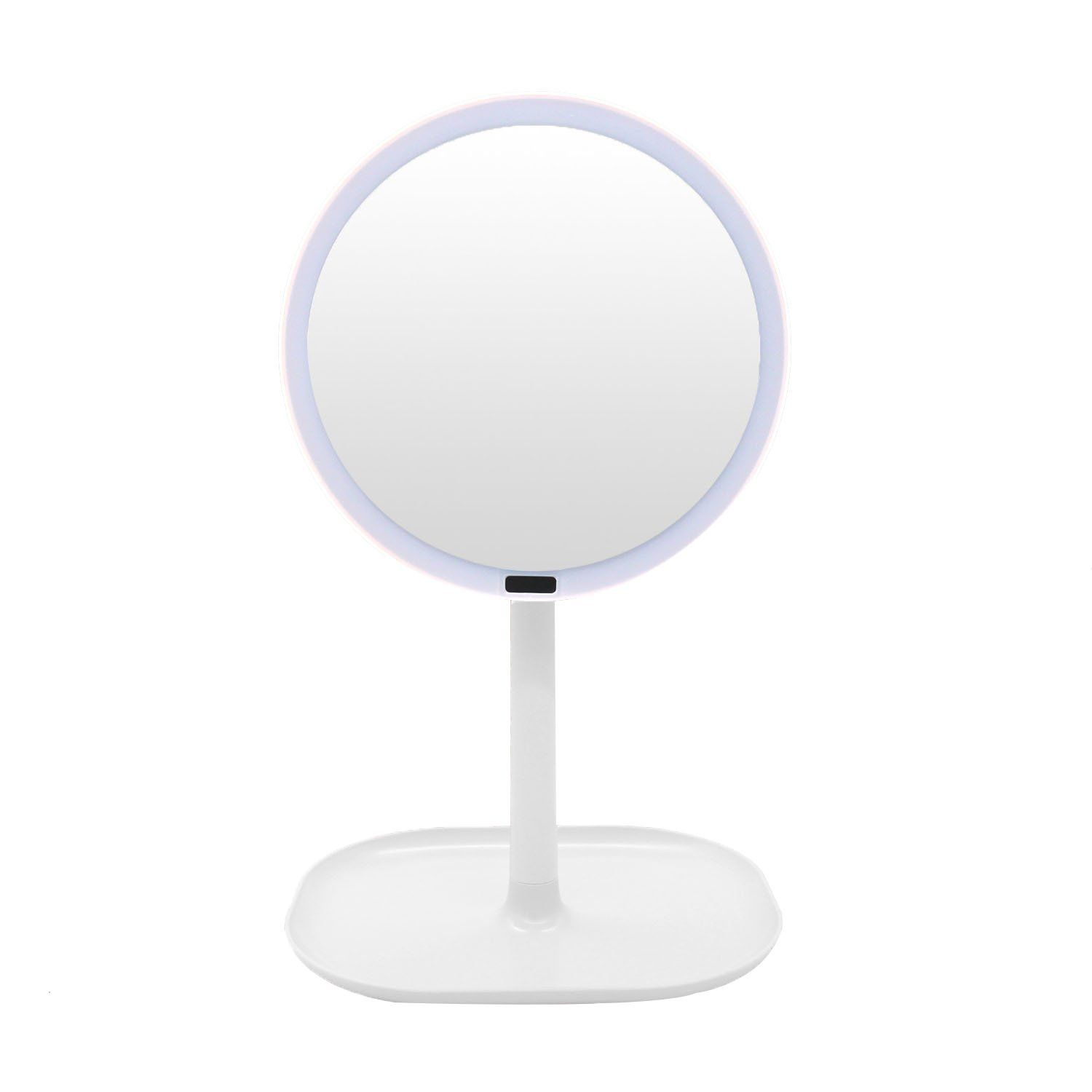 inch lighted makeup mirror vanity article lighting sensor lights with the best simplehuman mirrors