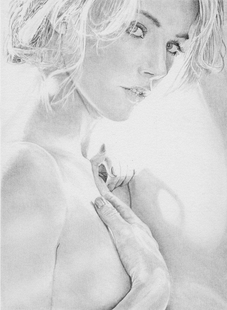 Эротические рисунки карандашом