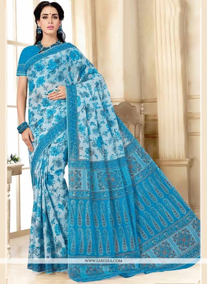 Cotton casual saree saree indian designer sarees and printed sarees
