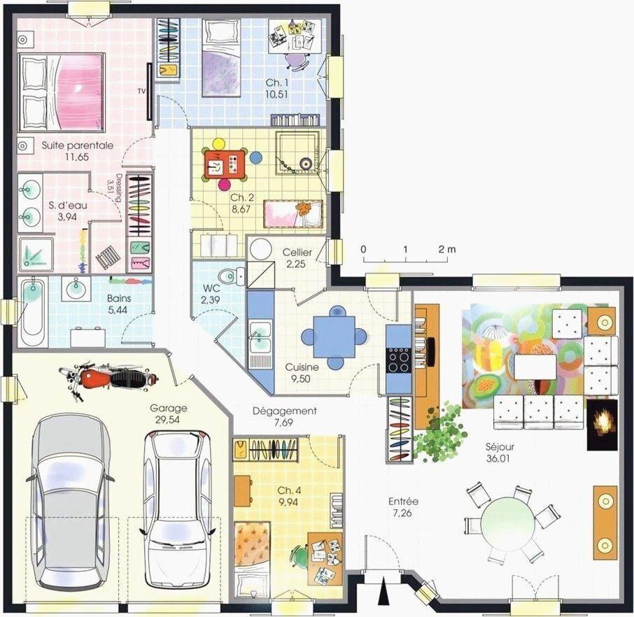 Plan De Maison En Ligne Bon Dtail Du Plan De Maison W Avec Plan De Maison Avec Maison Cabriere Plan D En 2020 Plan Maison 4 Chambres Plan Maison Plan Maison Plain Pied