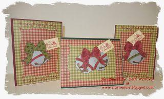 Silver Bells/Gold Bells Christmas Cards